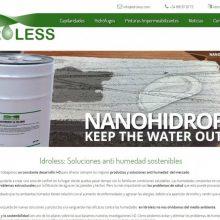 Lanzamiento nueva web Idroless.com